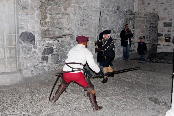 Chillon: démonstration de combat médiéval