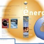 Brochure sur l'énergie destinée aux écoliers, Tristan Boy de la Tour, graphiste, Lausanne