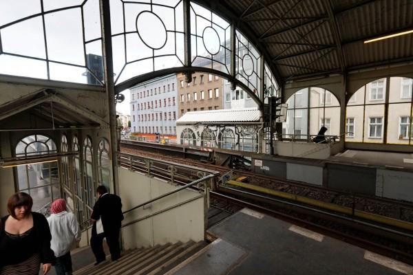 La station de métro de Görlitzer
