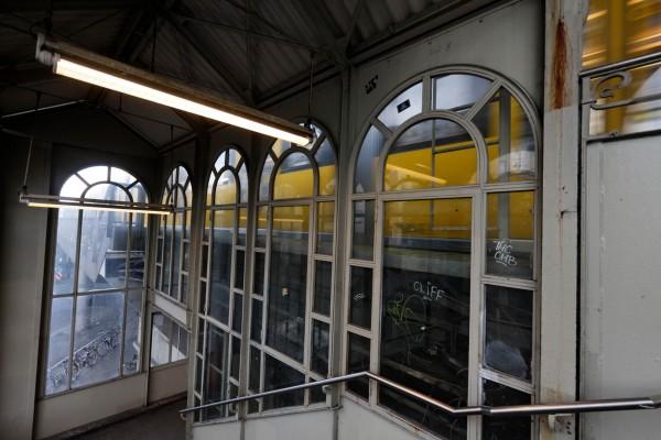 Cage d'escalier de la station de métro Görlitzer