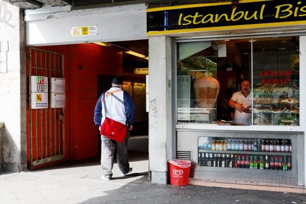 Kebab, Kreuzberg, Berlin