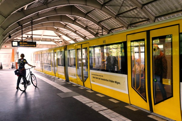 Une rame du métro à Kottbusser