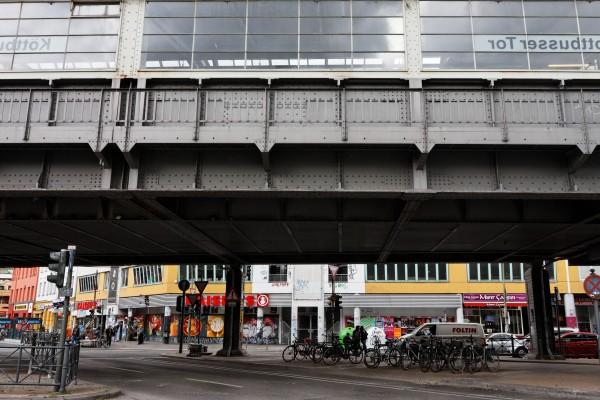 Le métro aérien à Kottbusser