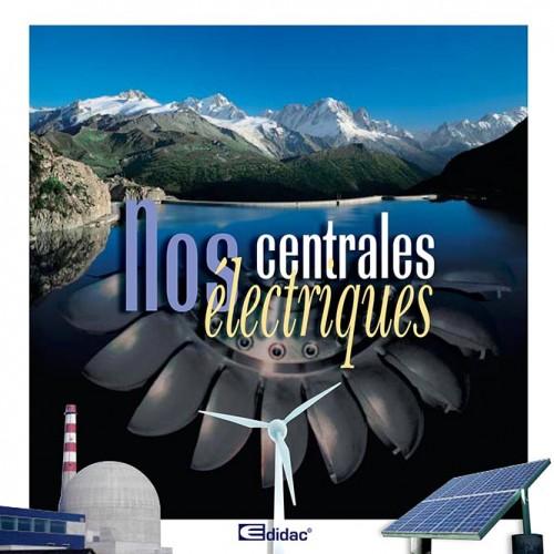 Brochure «Nos centrales électriques». Tristan Boy de la Tour, graphiste Lausanne