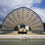 Paper Boat Architecte: Shigeru Ban. Photo © Didier Boy de la Tour, photographe