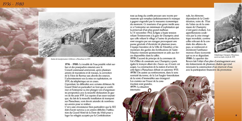 Brochure électricité SSE Valais. Tristan Boy de la Tour, graphiste Lausanne