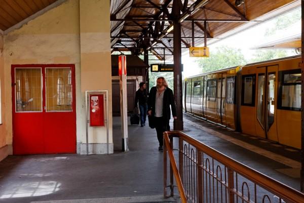 La station de métro de Schlesisches Tor