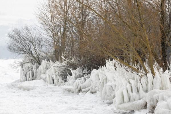 Vagues de glace