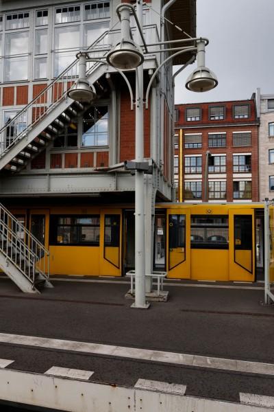 La station de métro de Warschauer Strasse